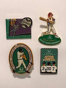 Little-League-World-Series-Pin-Lot-of-4-Mixed-Honda-LLWS