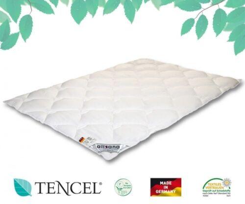 allsana TENCEL® Lyocell Klimafaser Steppbett 200x200 cm für Allergiker geeignet