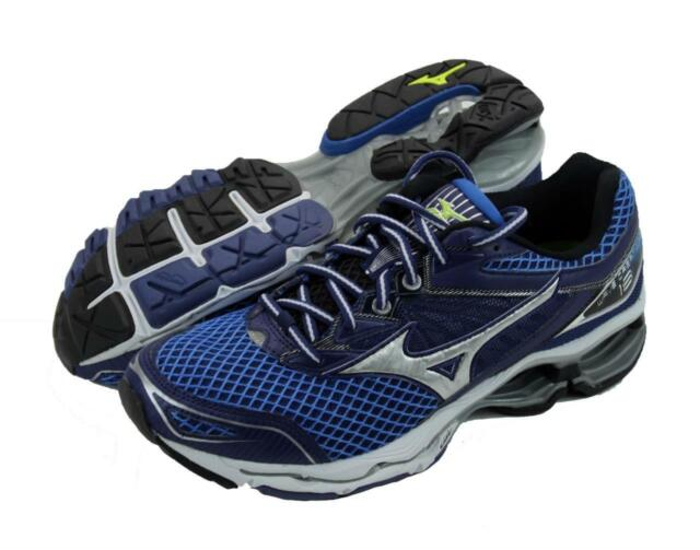 reputable site a337f a06f3 New Men's Mizuno Wave Creation 18 Running Shoes Size 9 Navy/Blue/Silver