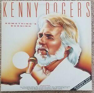 KENNY-ROGERS-Something-039-s-Burning-1987-UK-Double-Vinyl-LP-Gatefold-sleeve