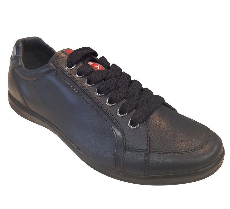 Prada scarpe da ginnastica New blu Navy For Men Dimensione