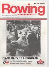 ROWING MAGAZINE - May 1986