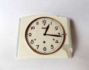 1940s Ceramic Kitchen Wall Clock