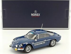 Alpine-Renault-A110-1600S-1971-Gendarmerie-1-18-Norev-Voiture-Model-Car-185301