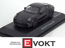Schuco Porsche 911 (991) Carrera GTS 2014 Black Model Car 1:43 Genuine New