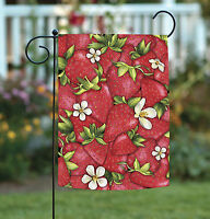 Toland - Strawberry Collage - Cute Colorful Red Berry Fruit Garden Flag