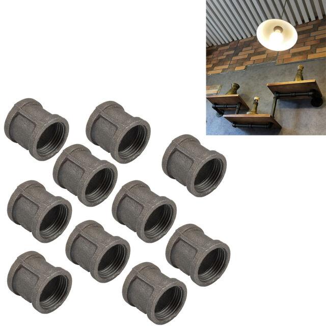 """2 Pk Black 5/"""" X 24/"""" 24 Ga Furnace Heat Stove Pipe Imperial Mfg BM0110"""