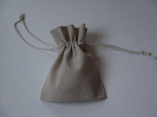 RUSTIC WEDDING RING BAG Small Natural Linen Drawstring Bag Ceremony Ring Holder