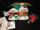 Fisher Price Little People A Visit From Santa Christmas Reindeer Sleigh Set