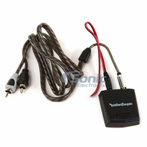 ROCKFORD FOSGATE Universal Bluetooth to RCA Adaptor for Audio Streaming RFBTRCA