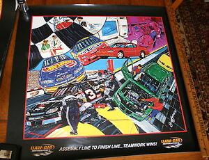 NASCAR-UAW-GM-MOTORSPORTS-SAM-BASS-POSTER-GOODWRENCH-DUPONT-COLOR-POSTER-1999