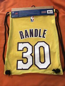3f98f236eb Image is loading Julius-Randle-30-LA-Lakers-Drawstring-Backpack-One-