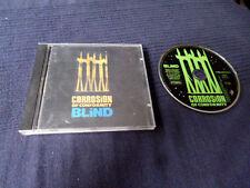 CD Corrosion Of Conformity - BLIND 13 Tracks 1991 + all Lyrics & Booklet POSTER