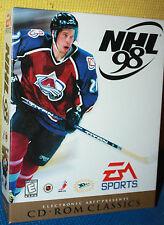EA Sport's NHL 98 PC CD-ROM CIB