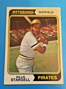 1974-Topps-Baseball-100-WILLIE-STARGELL-Pittsburgh-Pirates-HOF-EX-EXMT