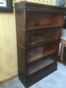Details About Globe Wernicke Bookcase Size D 8 And 1 2