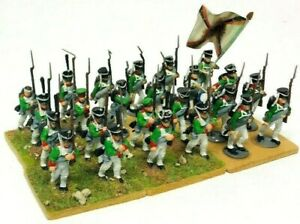 Perry-Miniatures-Napoleonic-28mm-Infantry-Models-Unit-Bundle-Painted-amp-Based