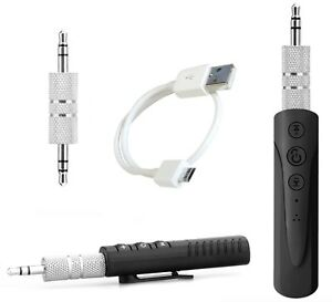Ricevitore-wireless-aux-bluetooth-vivavoce-jack-3-5mm-microfono-audio-per-auto