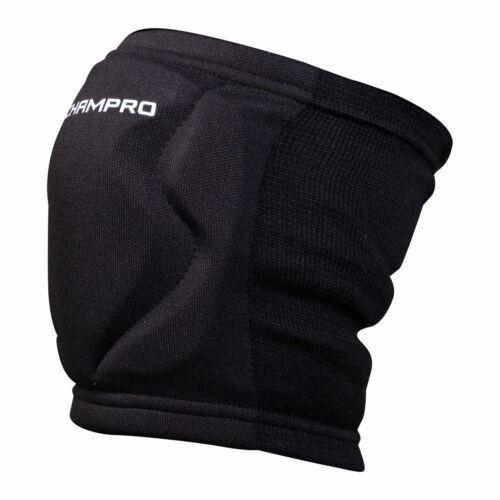 NEW Champro MVP High Impact Low Profile Knee Pad A3001 Black /& White