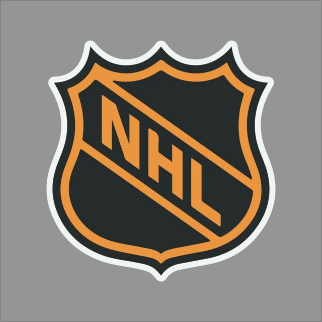 National Hockey League #2 NHL Logo Vinyl Decal Sticker Car Window Wall Cornhole
