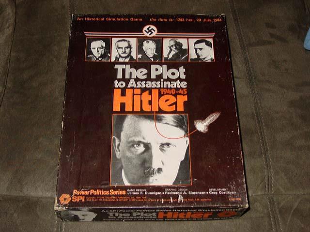 Spi-Le complot pour assassiner Hitler -1940-45 - Power Politics série (non perforé)
