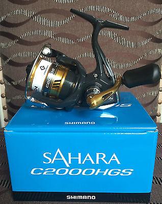 Shimano Sahara 4000 XG FI Spinnrolle Stationärrolle Neu
