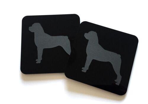 Personalisiertes Hunde Untersetzer Personalisiert mit Ihrem Hunderasse