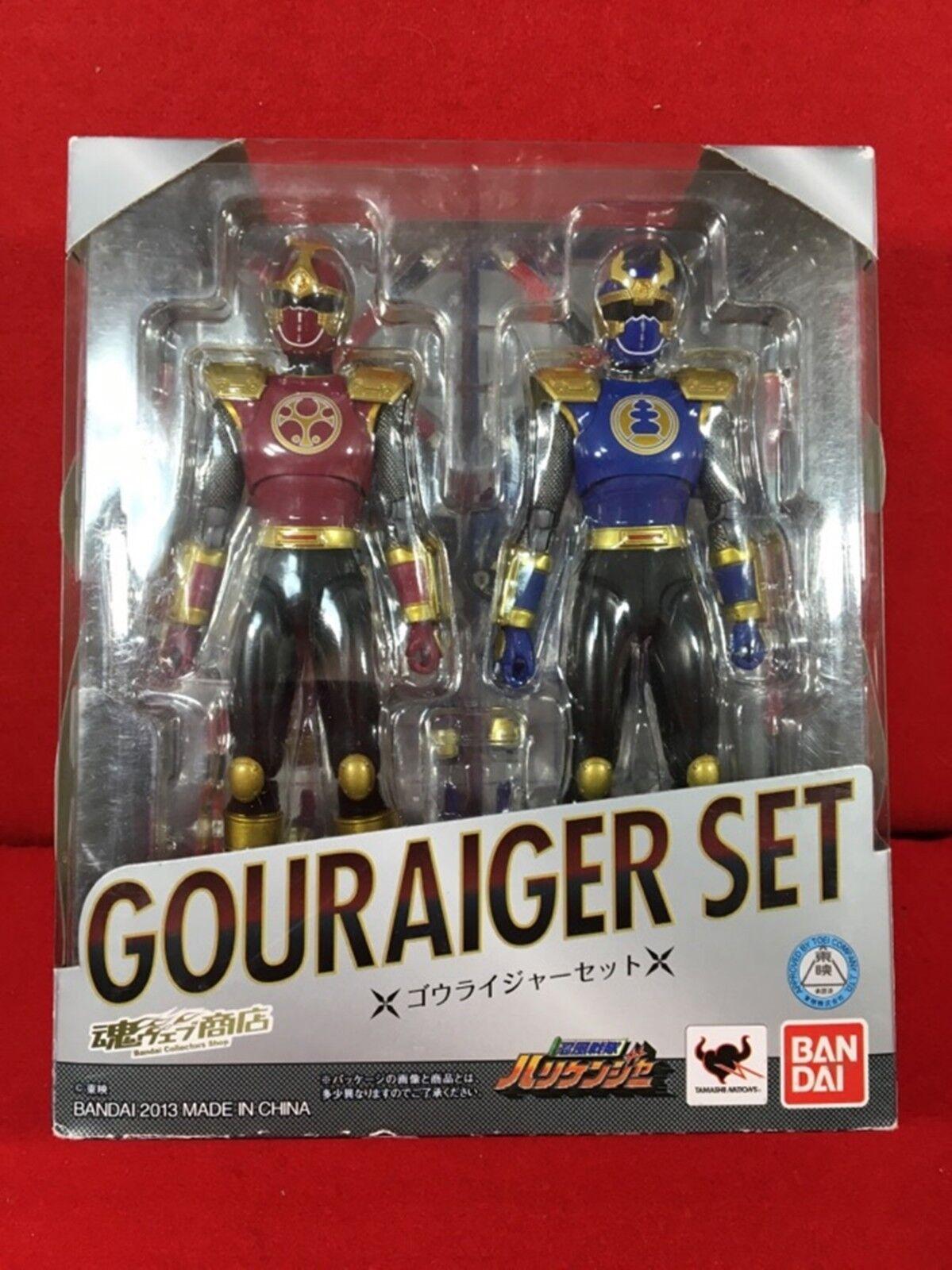 Utiliza S.H. Figuarts Ninpuu Sentai Hurricaneger gouraiger conjunto figura de acción BANDAI