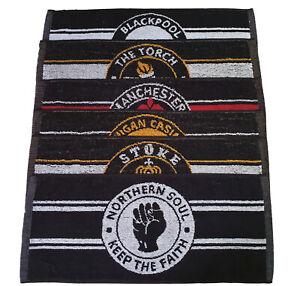 Set of 6 Limited Northern Soul Bar Beer Pub Towels Skinhead Ska Scooter Mod