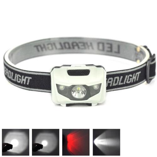 900LM XML R3 2 LED Stirnlampe USB Kopflampe 18650 Akkus Scheinwerfer