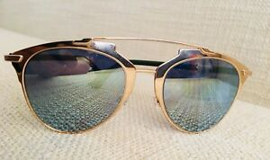 6b17be911c Image is loading New-Sunglasses-Christian-Dior-Reflected-52-Rose-Gold-
