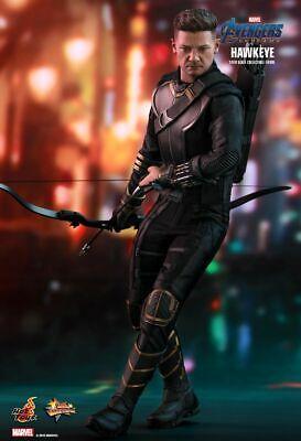 Endgame Hawkeye 1//6 Scale Hot Toys MMS531 Avengers long sleeves top