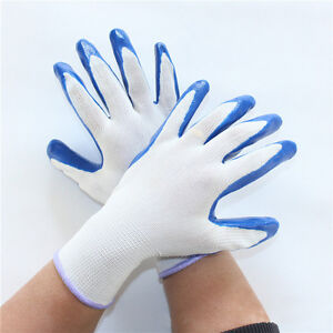 1-Pair-Grip-Antideslizante-Impermeable-Serie-Nylon-Los-Guantes-De-Latex