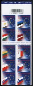 Belgien-Markenheftchen-mit-MiNr-3342-51-postfrisch-MNH-CEPT-Mitlaeufer-A0126