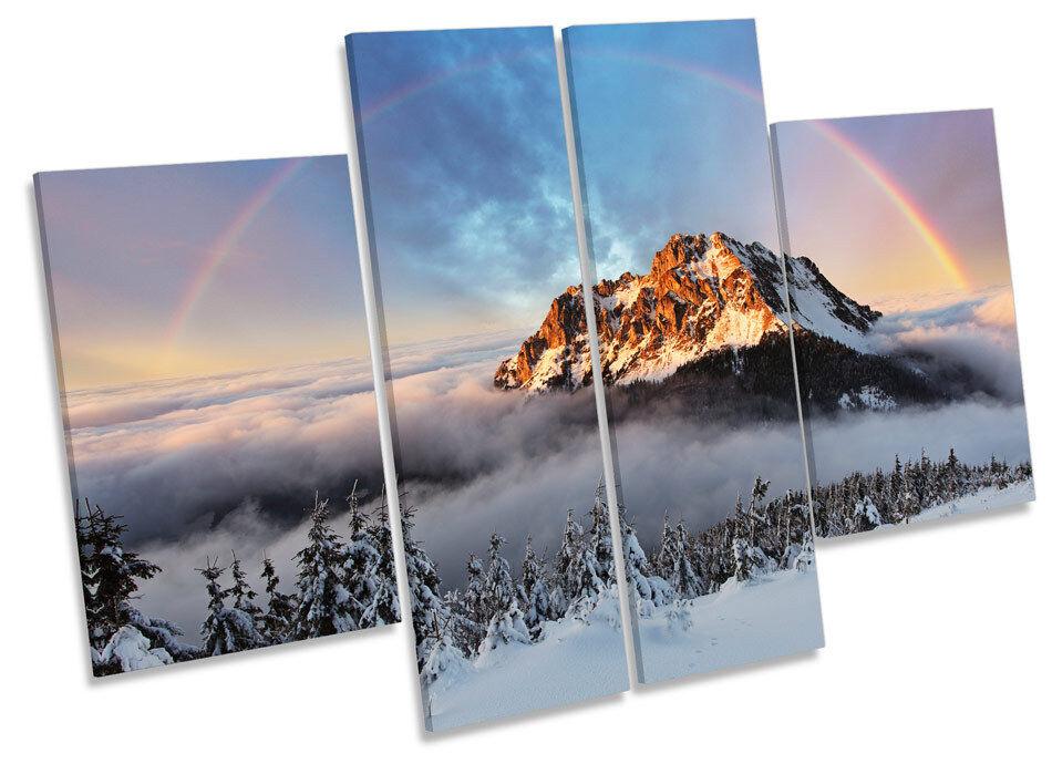 Mountain Fatra Slovakia CANVAS Wand Kunst MULTI Panel Bild Drucken