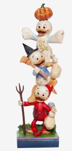 Disney Traditions Jim Shore Halloween Huey Dewey & Louie Trick-or-Treaters