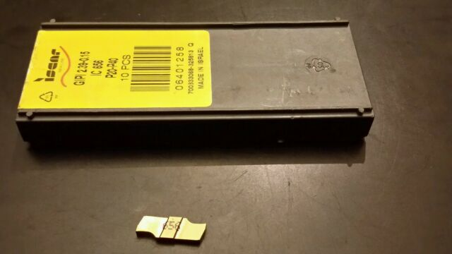 10 PCS IC 20 ISCAR EMP-1.57-0.15 K10 CARBIDE INSERTS