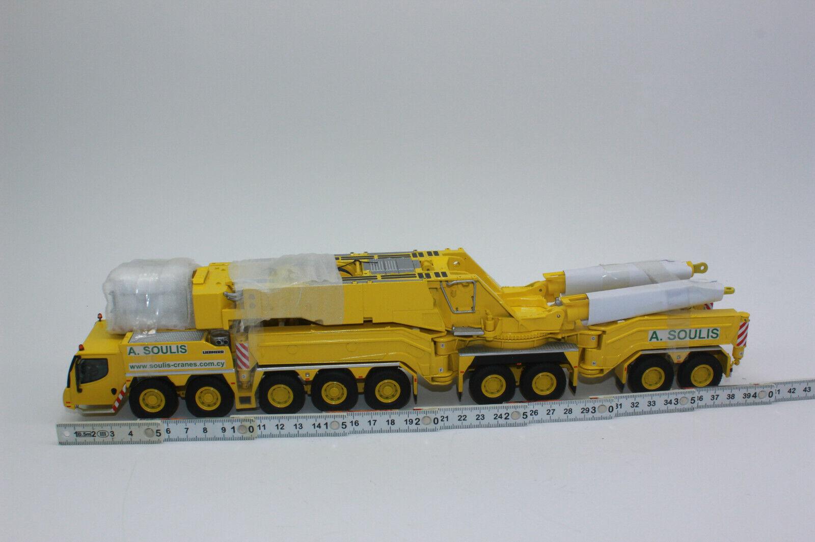 Nzg 732 27 Liebherr Ltm 11200-9.1 Soulis Mobile Crane New Limited 100 Pieces 1