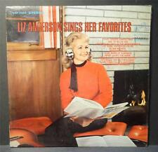 LIZ ANDERSON sings her favorites RCA Victor LSP-3908 60s Country Female Vocalist
