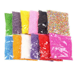 HOT-Assorted-Colors-Polystyrene-Styrofoam-Filler-Foam-Mini-Beads-Balls-Crafts