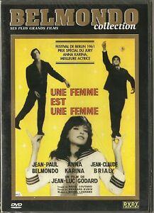 DVD-Une-femme-est-une-femme-Belmondo-NEUF