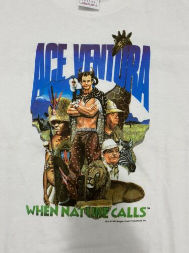 Vintage Ace Ventura When Nature Calls Shirt YOUTH