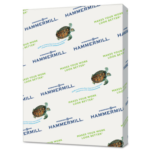Hammermill Recycled Colored Paper 20lb 8-1//2 x 11 Canary 500 Sheets//Ream 103341
