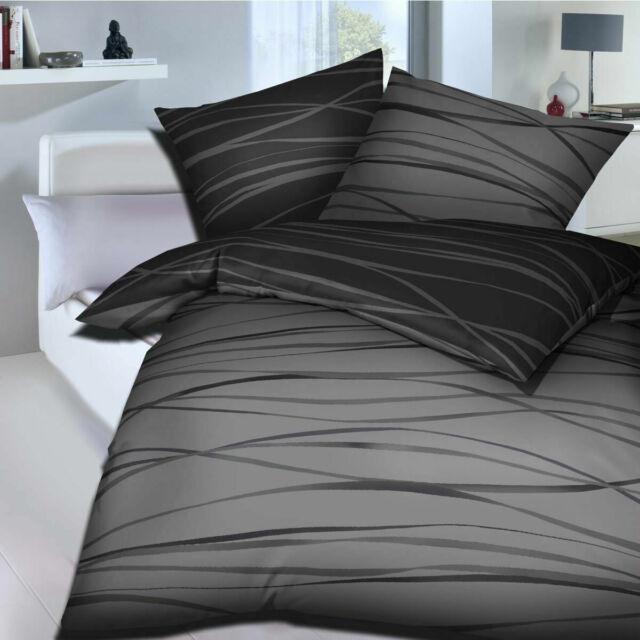 Kaeppel Mako Satin Bettwasche 4 Tlg Rv Motion Zinn 135x200 Gunstig