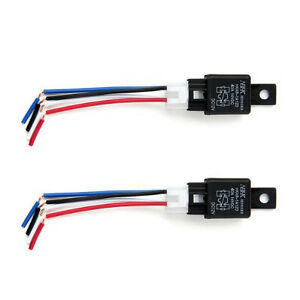 Automotive Relays Normally Open Relay Switch Changeover Relay 40A - Automotive Relay Normally Open