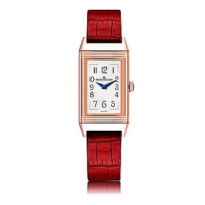 New Jaeger LeCoultre Reverso Duetto  Moon 18K Pink Gold Manual Watch Q3352420