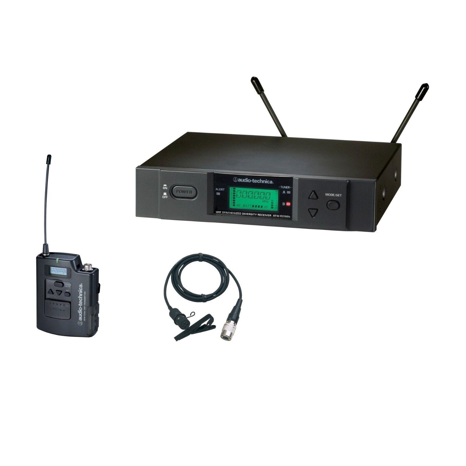 Audio-Technica ATW-3131b 3000 Series Wireless Lavalier System