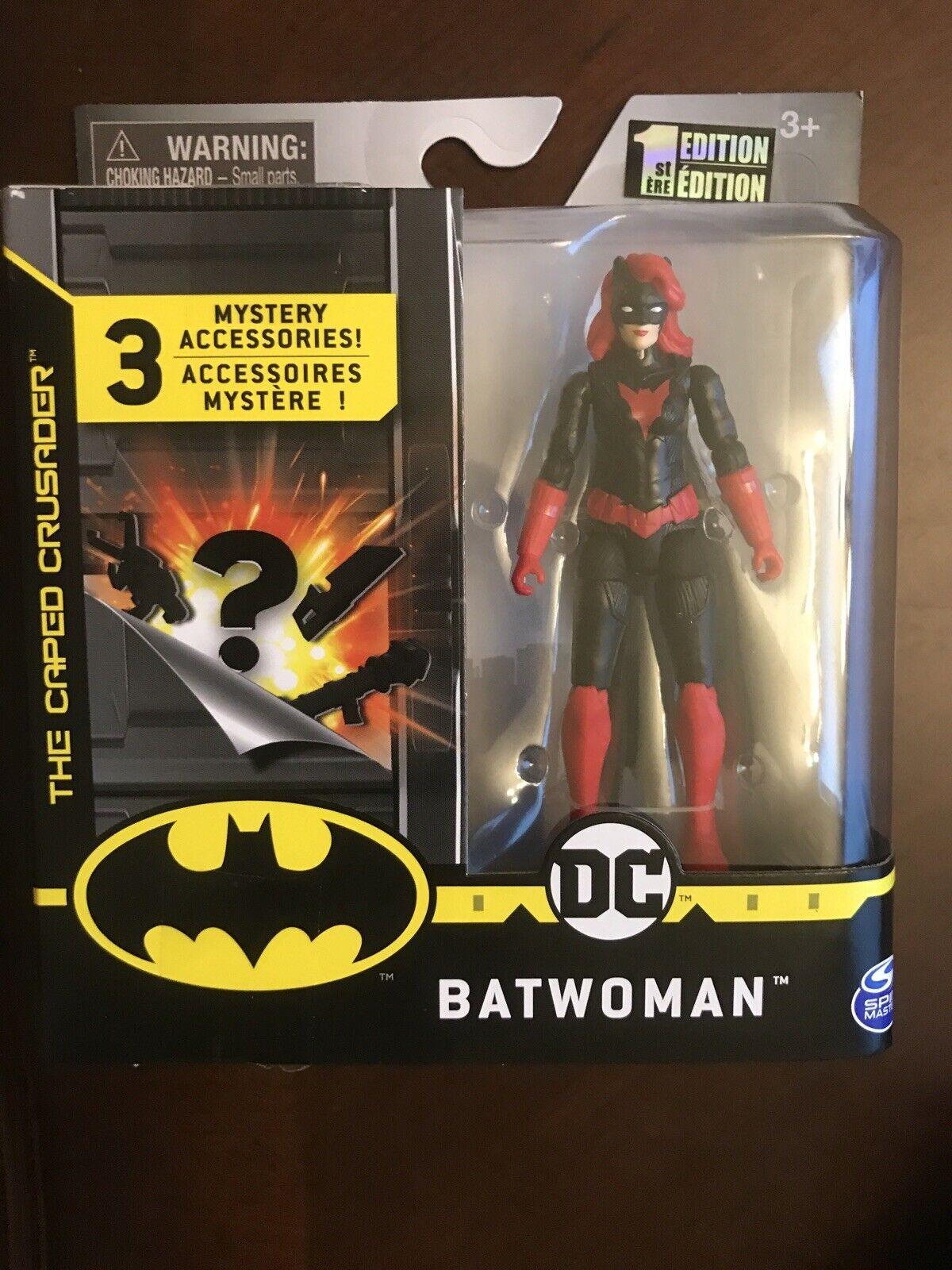 """DC o Coringa Spin Master 4/"""" Figura De Ação Batman 1st Edição A7"""