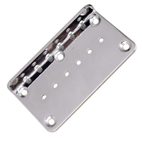 6 String E gitarre Brücke Grundplatte für Gitarre Teile Zubehör Größe