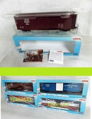 Aggressivo Märklin Maxi Traccia 1 5487 Us Box Car Union Pacific (u.p.) 105744 Nuovo Ovp 4 Achsig-mostra Il Titolo Originale